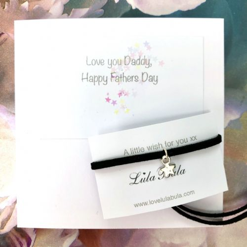 Wish bracelet - father's day gift